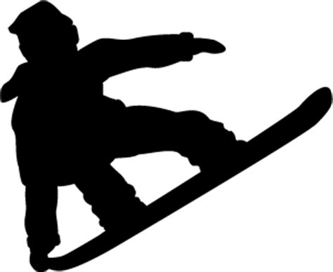 Y Furniture by Snowboarder Silhouette Clipart 37