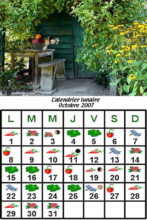 Calendrier Lunaire Novembre 2007 Calendrier Lunaire D Octobre 2007 Le Jardinoscope Cot 233