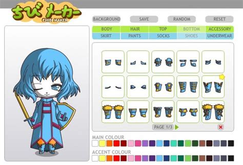 Anime Maker by Chibi Anime Maker Www Pixshark Images Galleries