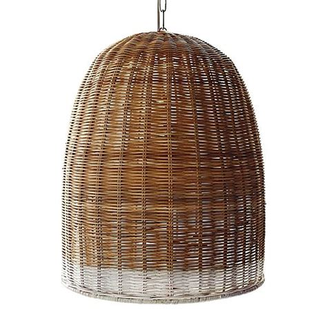 Serena Lily Wicker Pendant Light H O M E Pinterest Rattan Lights