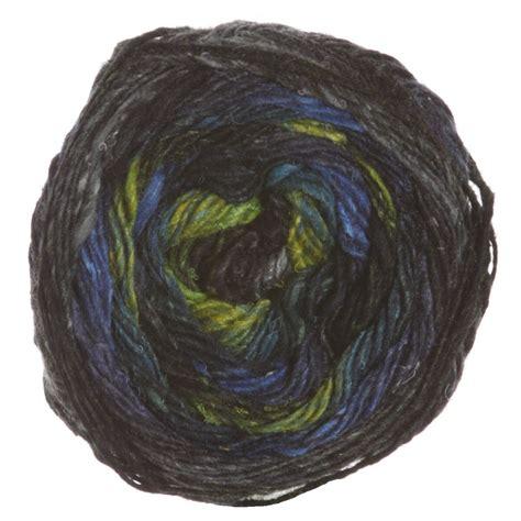 Noro Silk Garden by Noro Silk Garden Sock Yarn 252 Black Lime Blue At