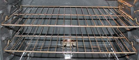 an almost effortless way to clean your oven racks one