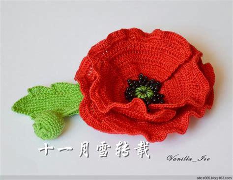 youtube poppy pattern 1094 best crochet flowers images on pinterest