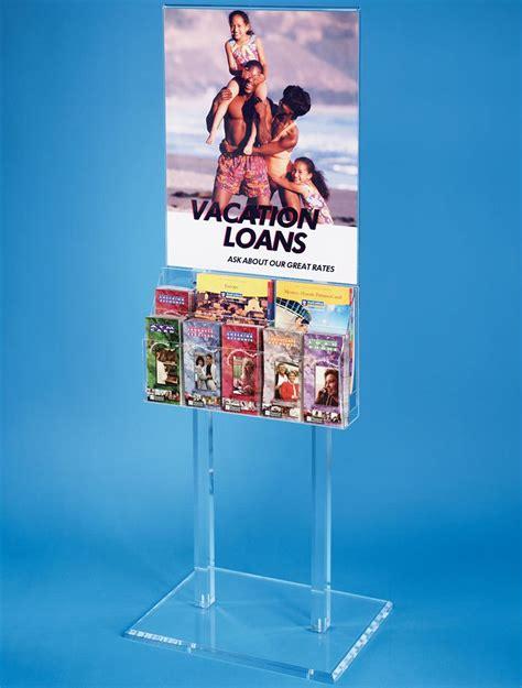poster display rack poster display literature rack