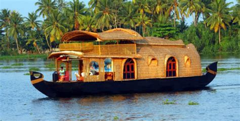 kerala house boats 1 night and 2 days kumarakom houseboat package