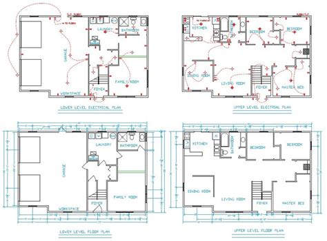 cad house house plan cad file escortsea