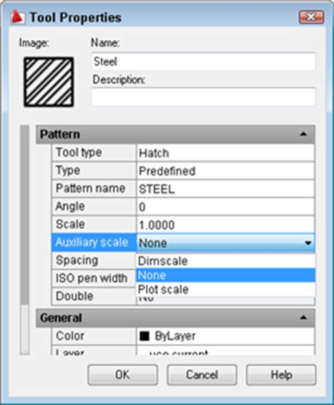 reset tool palettes autocad change the scale of blocks and hatches in tool palettes