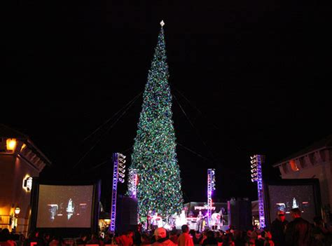 where is the biggest chistmas tree in the whole world photos tree lighting ceremonies around the country abc7