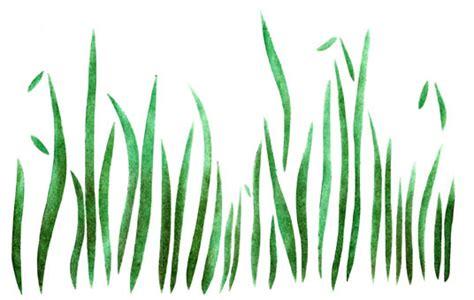 grass border stencils stencilease com