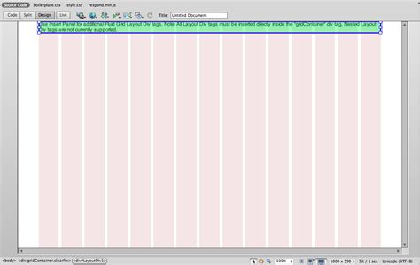28 dreamweaver fluid grid template 28 dreamweaver fluid