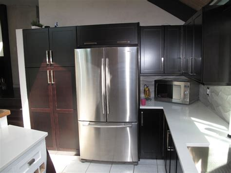 maple veneer cabinet refacing cabinets matttroy cabinet refacing with espresso stain on maple veneer
