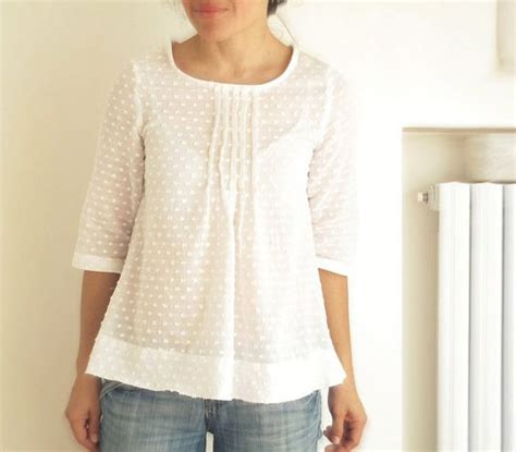 s pleated blouse japanese style top cotton pleated shirt size us 2 ready to ship for