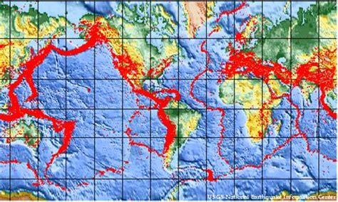earthquake zones in the world what makes a fault break