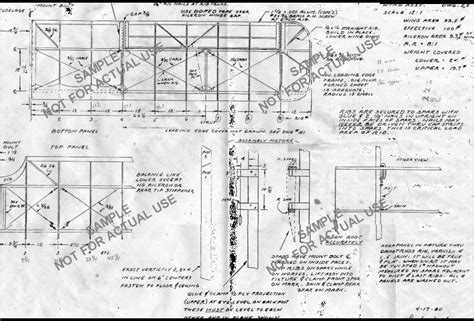 aircraft layout and detail design pdf image gallery model aircraft plans drawings
