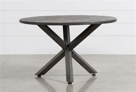 Tortuga Round Outdoor Dining Table Living Spaces Outdoor Dining Table