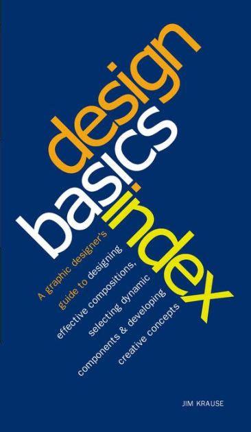 font design basics design basics index by jim krause paperback barnes noble 174