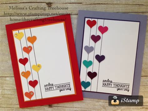 simple cards to make diy handmade clean and simple card using the all boxed up