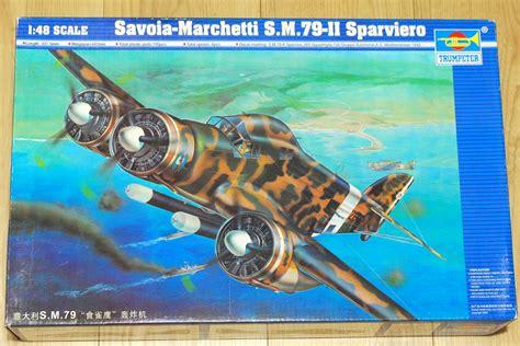 savoia marchetti s 79 sparviero torpedo bomber italian royal air force savoia marchetti s m 79 ii sparviero trumpeter 1 48 build and painting