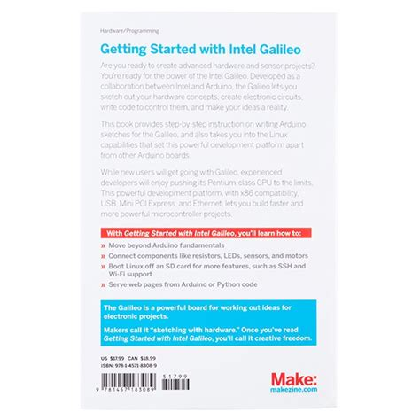 E Book Of Thing With Intel Galileo getting started with intel galileo