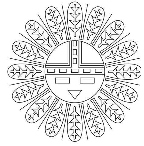 coloring pages native american designs native american coloring designs american indian