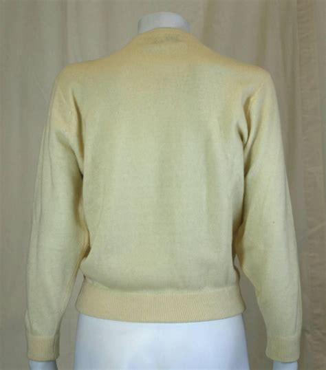 Sweater Cocktails 1950 s quot cocktail hour quot cardigan for sale at 1stdibs