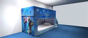 frozen bunk bed frozen bedroom ideas by www