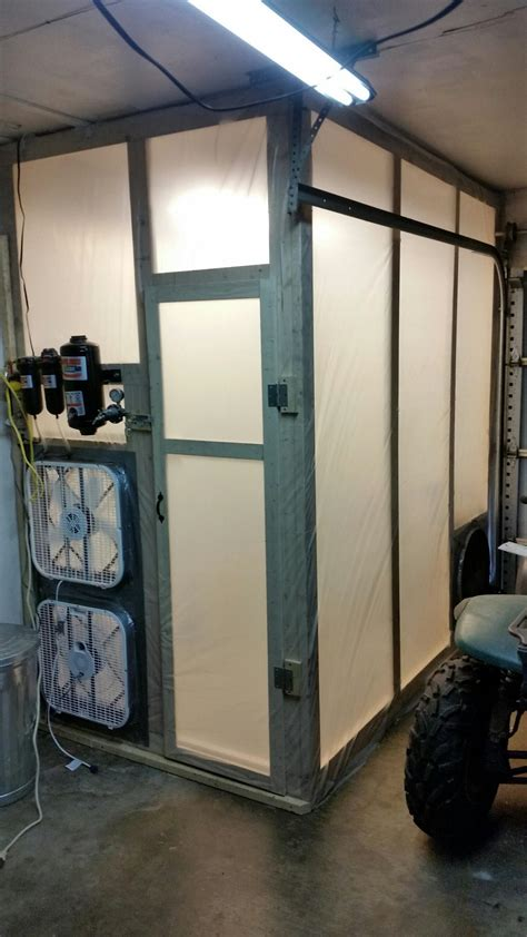 Garage Spray Booth by Diy Garage Size Paint Booth K2forums