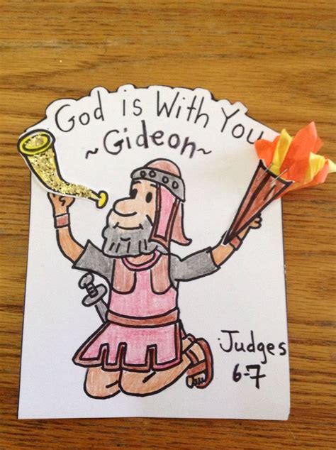 bible story crafts for gideon bible craft by lety bible crafts and lessons