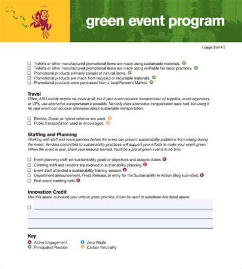 Event Program Template by Sle Event Program Template 17 Free Documents In Pdf
