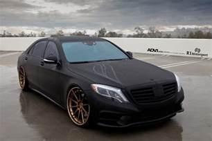 Mercedes Ss 550 Matte Black Mercedes S550 Adv10 Track Spec Cs