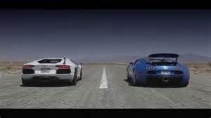 Lamborghini Vs Bugatti Vs Race Bugatti Veyron Vs Lamborghini Aventador Race 2014