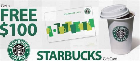 Starbucks Gift Card 50 Off - free 100 starbucks gift card and 50 off starbucks for the rest of 2015 first 1 000