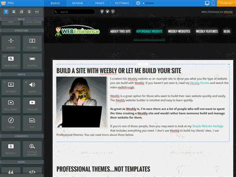 website maker the best website builder for you web eminence