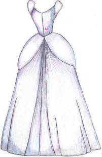 how to draw a dress how to draw cinderella dress