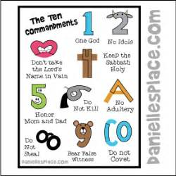 Ten commandments foldable activity this foldable activity from