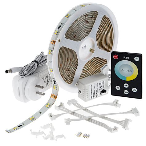 Outdoor Vct Led Strip Light Kit Color Temperature Waterproof Led Light Kit