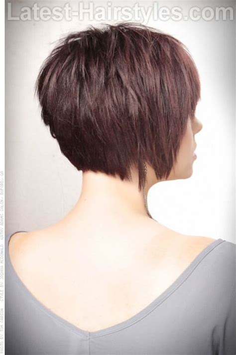 hair cuts that create more volume 25 best ideas about short hair back view on pinterest
