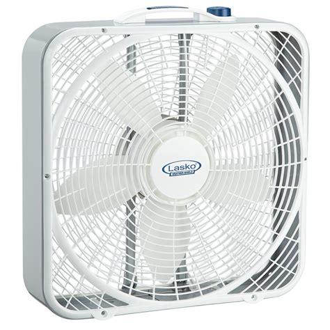 lasko 20 box fan lasko 20 in 3 speed weather shield performance box fan
