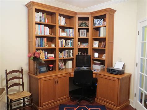 office desk with bookcase and shelving custom solid walnut corner home office desk cabinets and bookcase shelves in borders woodworks