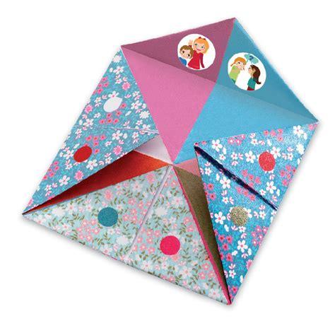 Fortune Teller Paper Craft - djeco origami fortune tellers paper craft create origami