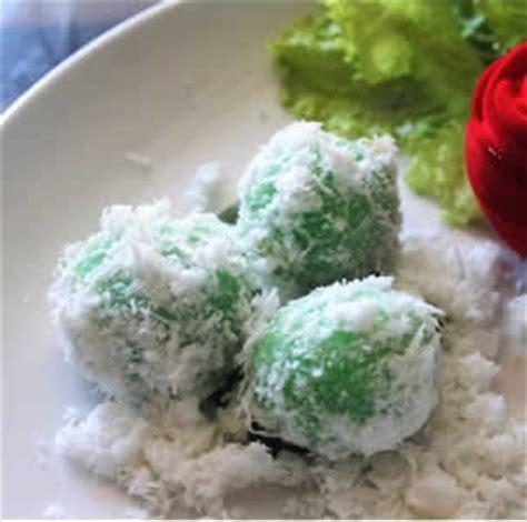 resep cara membuat kue klepon onde onde masakan kuliner resep kue klepon tepung beras resep masakan 4