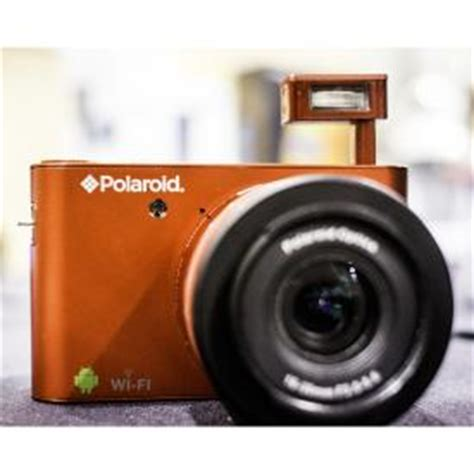 ces 2013: polaroid's android interchangeable lens camera