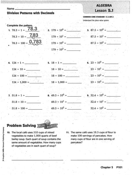 prep 5th grade go math grade 5 answer key chapter 6 5th grade practice book ch med 4 go math daily