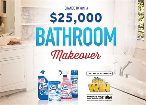 bathroom makeover contest lysol 25 000 bathroom makeover contest