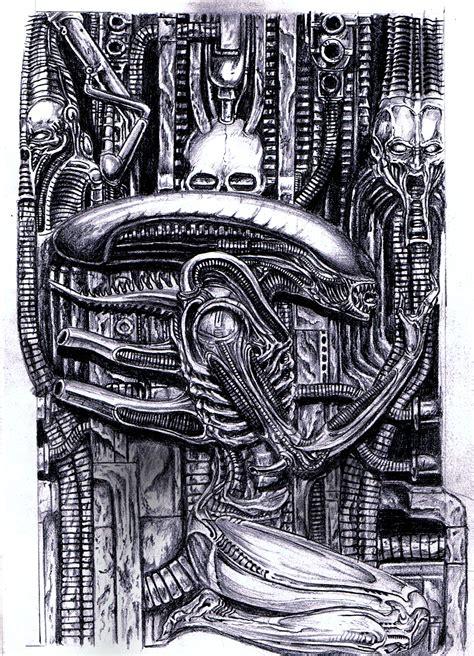 h r giger s alien by metapharistic on deviantart