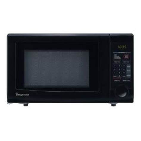 magic chef 1 1 cu ft countertop microwave in black