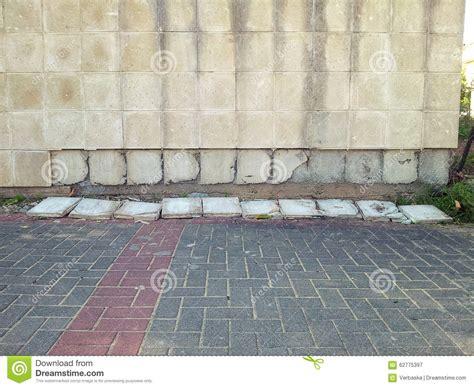 Strã Fliesen by Keramikfliesen Die Weg Wand Im Freien Fallen Stockfoto
