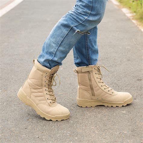 delta tactical boots desert swat american combat boots outdoor shoes breathable