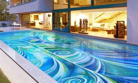 Art Deco Swimming Pool   Craig Bragdy Design Pools