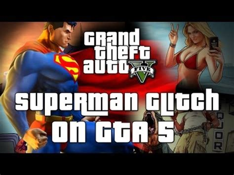 "grand theft auto v: superman cheat code ""skyfall"" tutorial"